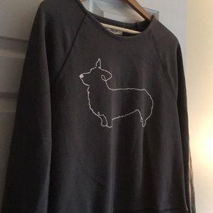 Madewell Corgi Sweatshirt M